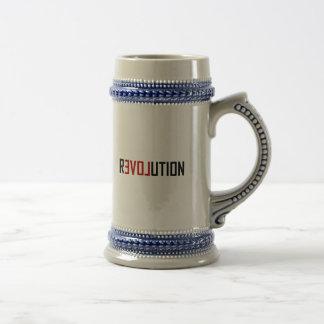 Revolution Love Art Beer Stein