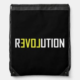 Revolution Love Art Drawstring Bag