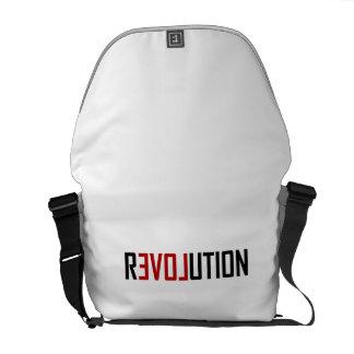 Revolution Love Art Messenger Bag