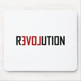 Revolution Love Art Mouse Pad