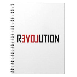 Revolution Love Art Notebook
