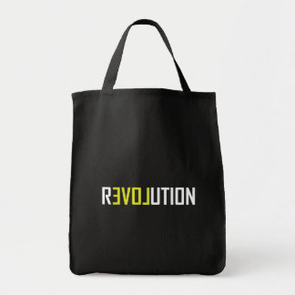 Revolution Love Art Tote Bag