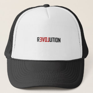 Revolution Love Art Trucker Hat