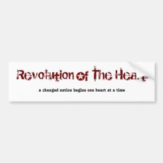 Revolution of The Heart, a cha... Bumper Sticker