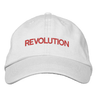 REVOLUTION   Personalized Adjustable Hat Embroidered Hats