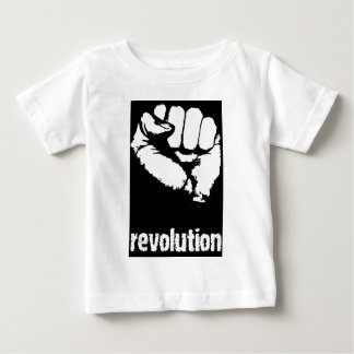 Revolution Raised Fist Baby T-Shirt