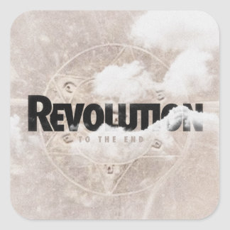 """Revolution """"To The End"""" Sticker"""