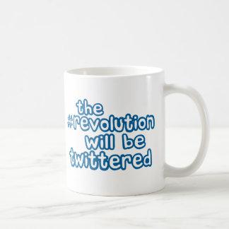 revolution twittered coffee mug