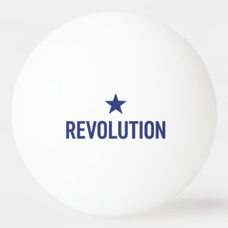 Revolution White - 3 star - Table tennis ball! Ping Pong Ball