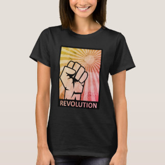 Revolution Women T-Shirt. T-Shirt