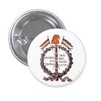 revolutionary 1 inch round button