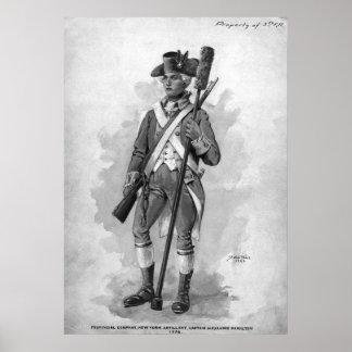 Revolutionary Artillerist Poster