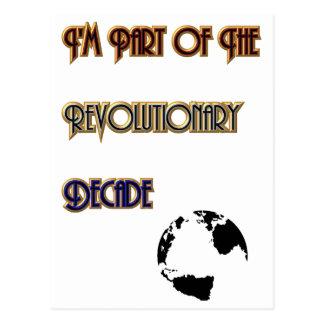 Revolutionary Decade Postcard