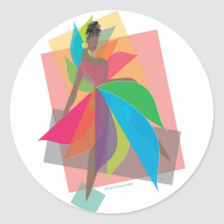 Revolutionary Love Classic Round Sticker