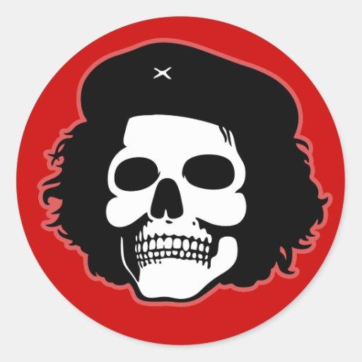 Revolutionary Skull Sticker