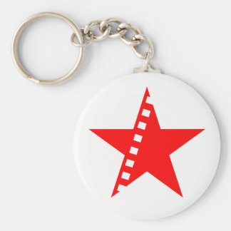Revolutionary socialist cinema keychain