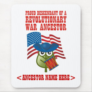 Revolutionary War Ancestor Mouse Pad