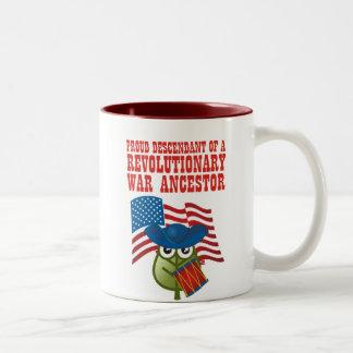 Revolutionary War Ancestor Mug
