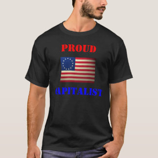 revolutionary-war-flag, Proud, Capitalist T-Shirt