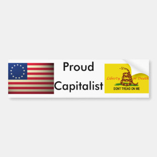 revolutionary-war-flag, treadonme copy, Proud, ... Bumper Sticker
