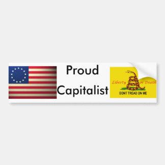 revolutionary-war-flag, treadonme copy, Proud, ... Bumper Sticker