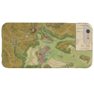 Revolutionary War Map of Boston Harbor 1776 Barely There iPhone 6 Plus Case