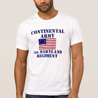 Revolutionary War Maryland Regiment T-shirt