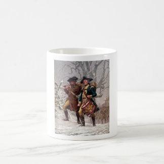 Revolutionary War Soldiers Marching Mugs