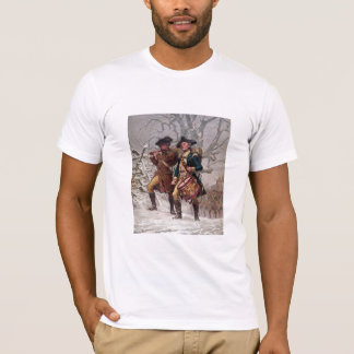 Revolutionary War Soldiers Marching T-Shirt