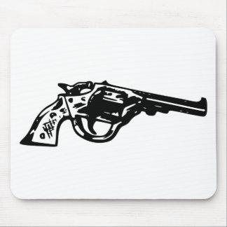 Revolver Pistol Mouse Pad