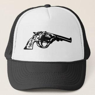 Revolver Pistol Trucker Hat