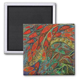 revolving door (painting) magnet