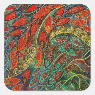 revolving door (painting) sticker