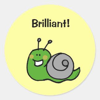 Reward sticker (Brilliant!)