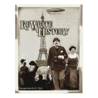 Rewrite History Postcard