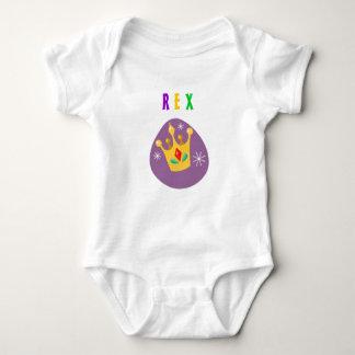 Rex, 1st Mardi Gras Baby Bodysuit