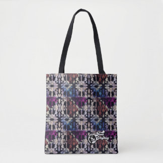 Rex Bag in shades of purple and blue.