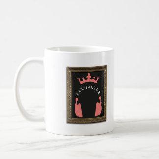 Rex Factor Logo Plain Coffee Mug