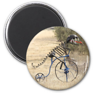 Rex Rider 2 Inch Round Magnet