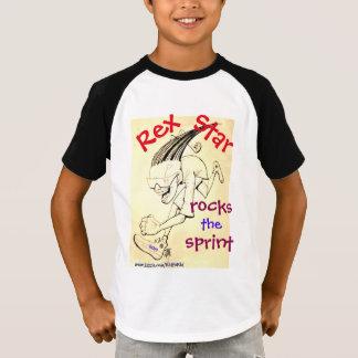 'Rex Star rocks the Sprint' Baseball T-Shirt