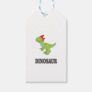 rex toon art gift tags