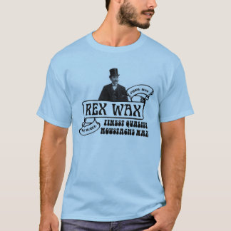 Rex Wax: Handmade Moustache Wax T-shirt