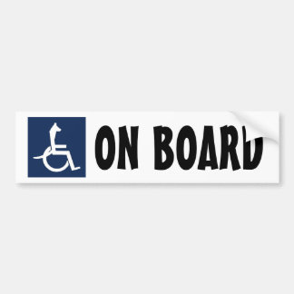 Rex Wheelchair Bumper Sticker