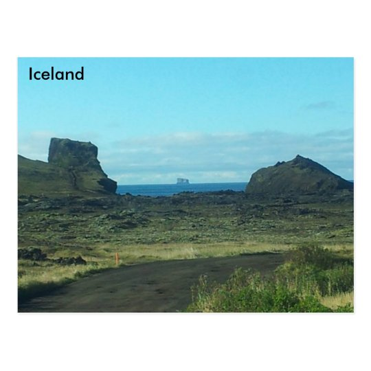 Reykjanes Peninsula, Iceland Postcard