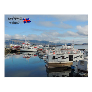 Reykjavik Harbour, Iceland Postcard