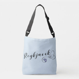 Reykjavík Heart Customizable Bag, Iceland Crossbody Bag
