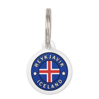 Reykjavik Iceland Pet Tag