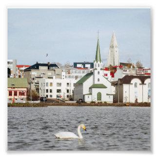 Reykjavik Iceland Photo Print