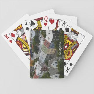 Reykjavik Iceland Playing Cards