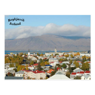 Reykjavík, Iceland Postcard